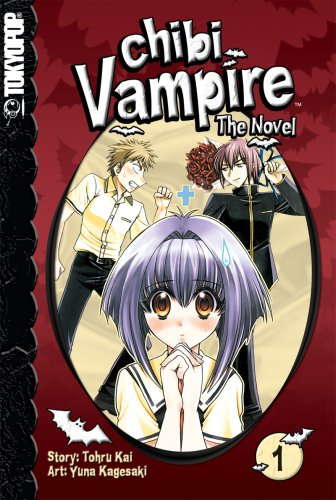 Chibi Vampire: The Novel, Volume 01 cover