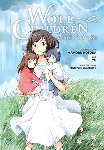 Wolf Children: Ame & Yuki cover