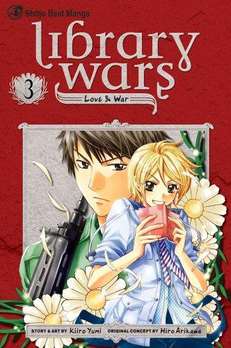 Library Wars: Love & War, Volume 03 cover