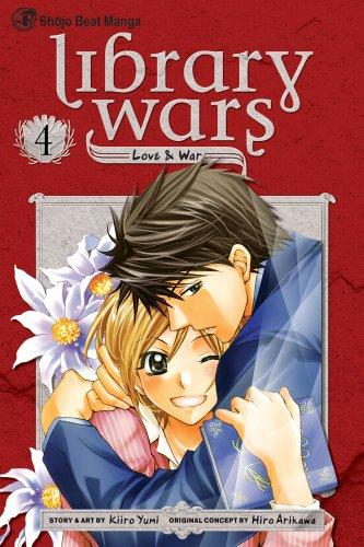 Library Wars: Love & War, Volume 04 cover