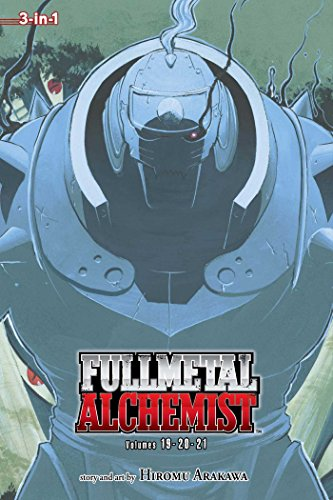 Fullmetal Alchemist (3-in-1 Edition), Volume 07: Volumes 19-20-21 cover