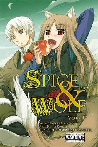 Spice & Wolf, Volume 01 cover