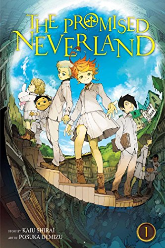 The Promised Neverland, Volume 01: Grace Field House cover