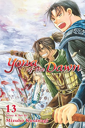 Yona of the Dawn, Volume 13 cover