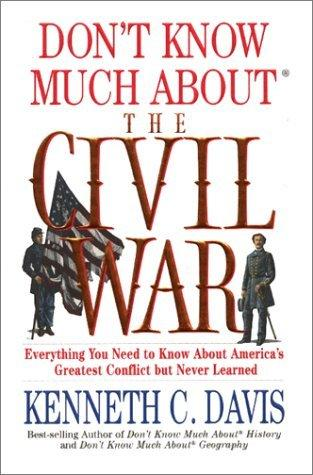Don't Know Much about the Civil War: cover