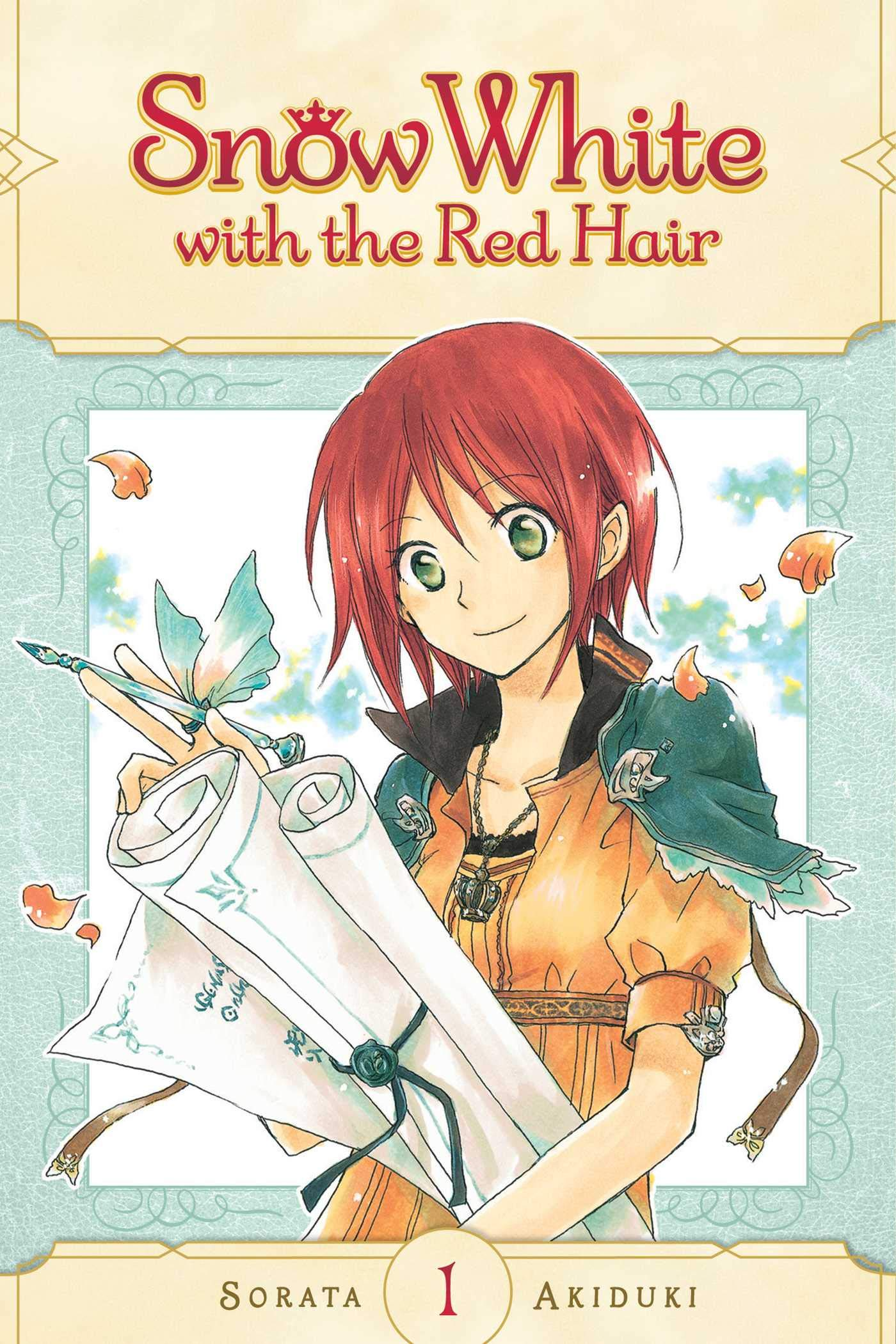 Snow White with the Red Hair, Volume 01 cover