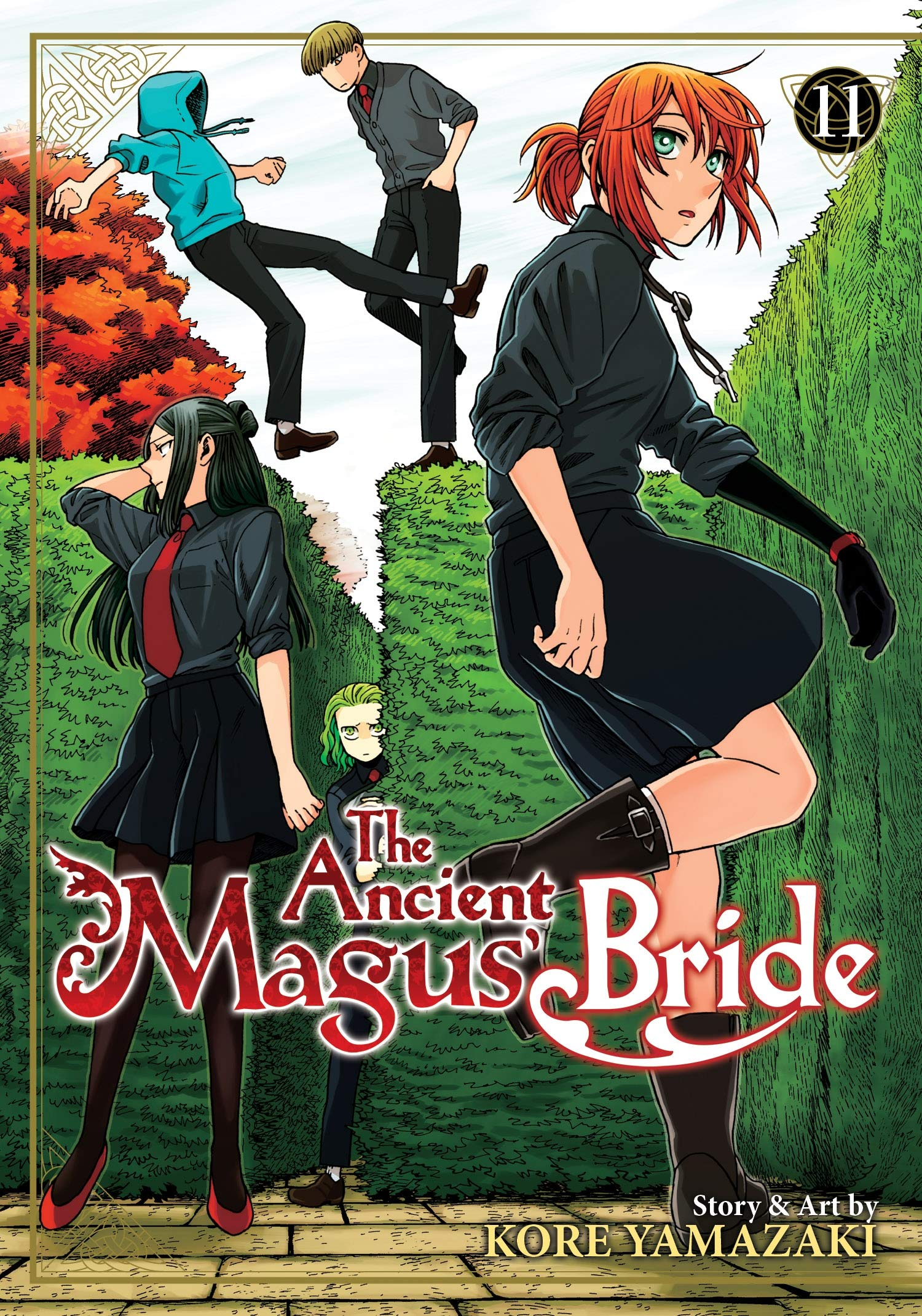 The Ancient Magus' Bride, Volume 11: Not All History Can Be Gleaned From Books cover