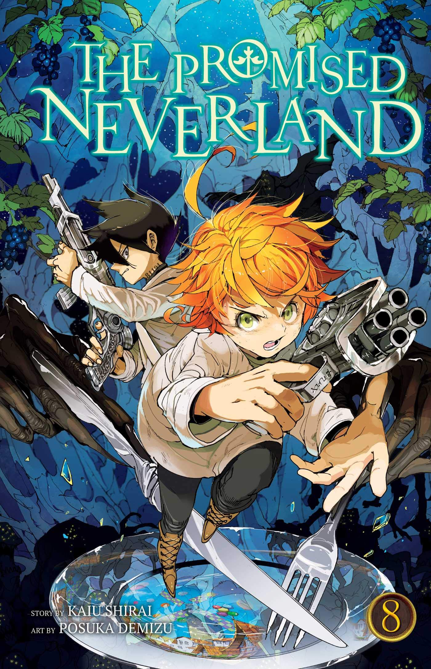The Promised Neverland, Volume 08: The Forbidden Game cover