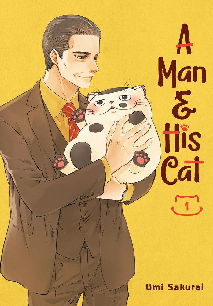 A Man and His Cat, Volume 01 cover