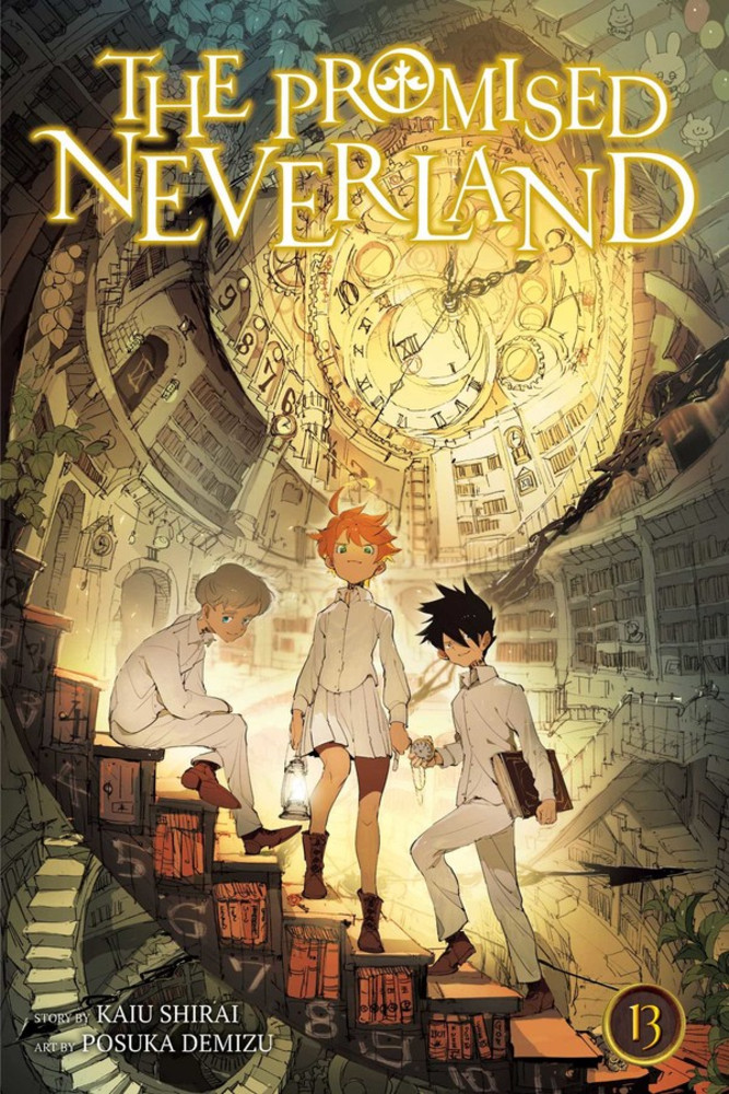 The Promised Neverland, Volume 13 cover