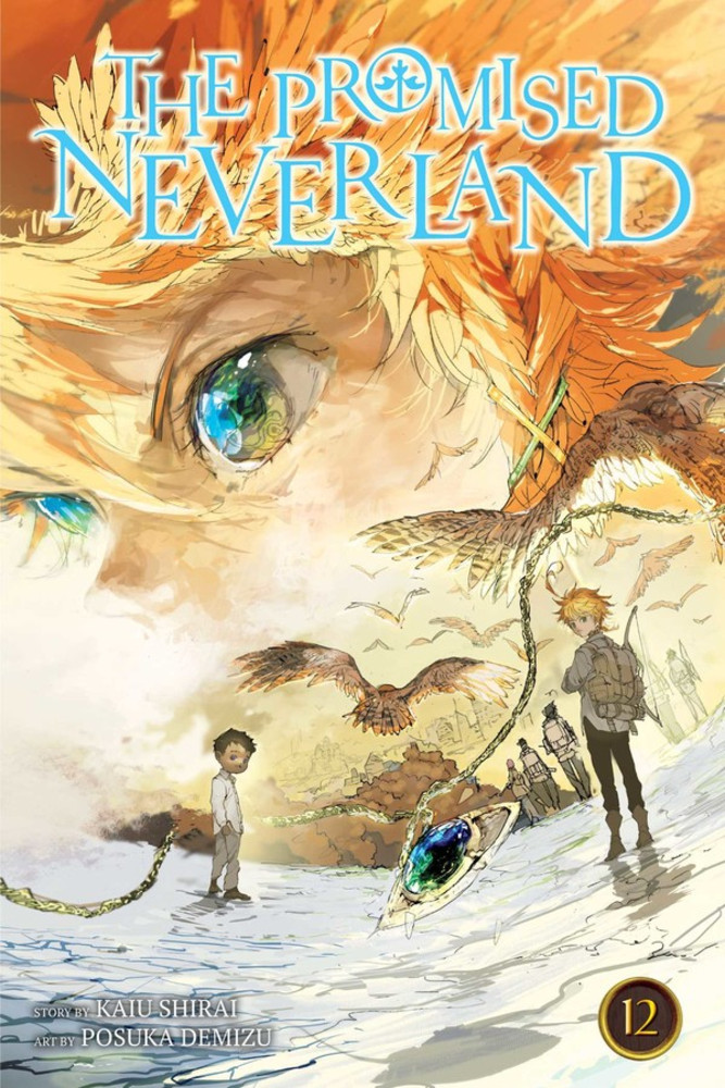 The Promised Neverland, Volume 12 cover