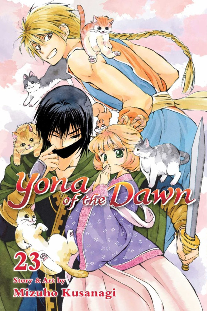 Yona of the Dawn, Volume 23 cover