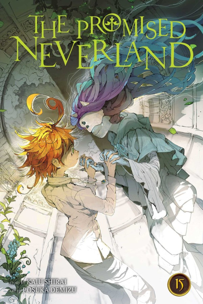 The Promised Neverland, Volume 15: Welcome to the Entrance cover