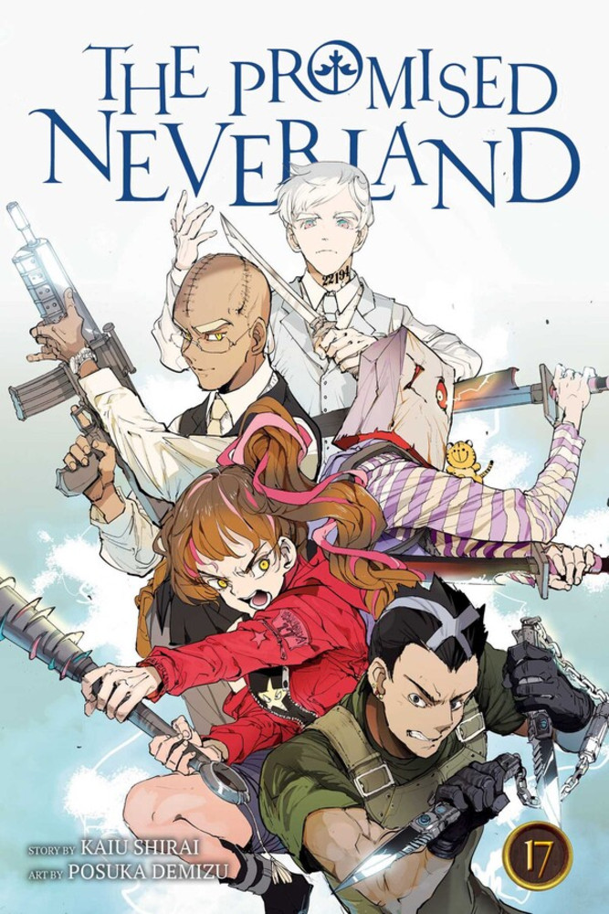 The Promised Neverland, Volume 17: The Imperial Capital Battle cover