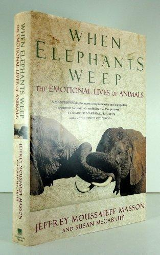 When Elephants Weep: cover