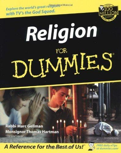 Religion for Dummies cover