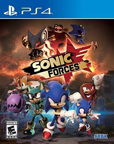 Sonic Forces: Digital Standard Edition cover