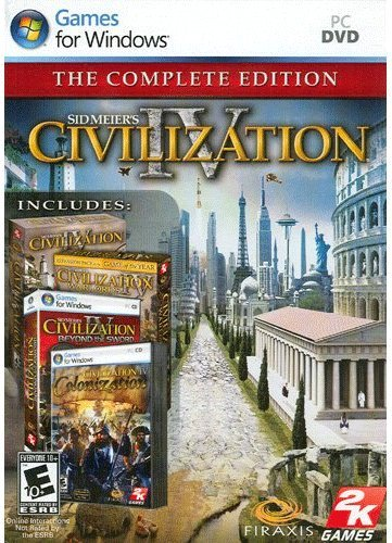 Sid Meier's Civilization IV: The Complete Edition cover