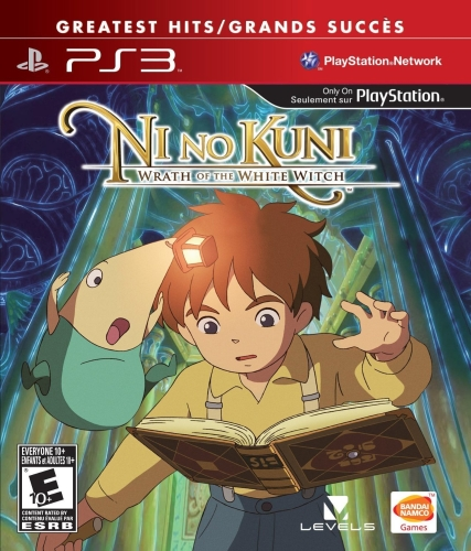 Ni No Kuni: Wratch of the White Witch cover
